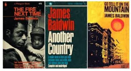 Cover Images of James Baldwin books